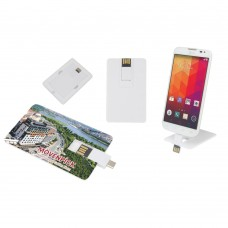16 GB OTG Özellikli Kartvizit USB Bellek